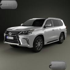 Бронирование автомобиля Lexus LX 2016