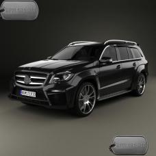 Бронирование авто Mercedes-Benz GL-class Mk2_X166