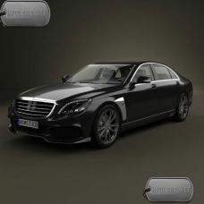 Бронирование авто Mercedes-Benz S-class W222 S600