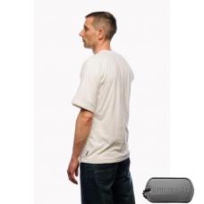 Белая футболка с коротким рукавом с подкладкой из спец. волокна