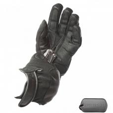 Кожа / Неопреновые перчатки со вставками из спец. волокна