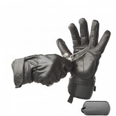 Кожаные перчатки FORTIS для защиты от порезов