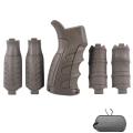 Пистолетная рукоятка со съемными накладками CAA TACTICAL для M4/М16/AR15 (UPG16)