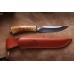 Нож Куница дамасская сталь